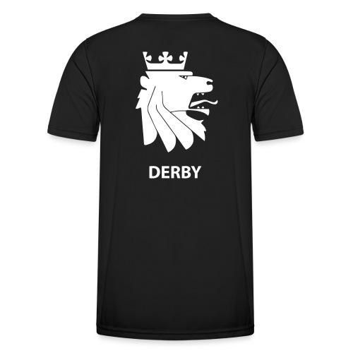 Derbylogo, Forsvaret og Flagg - Funksjons-T-skjorte for menn