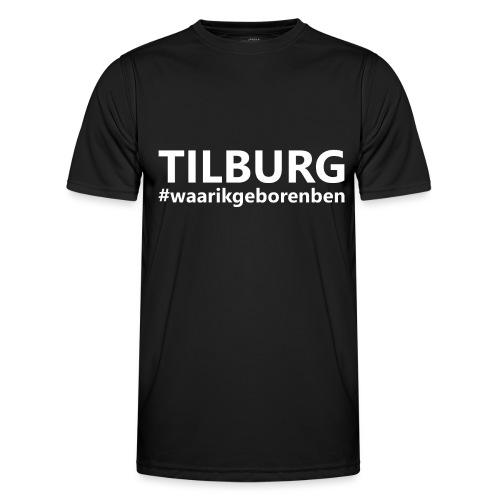 #waarikgeborenben - Functioneel T-shirt voor mannen