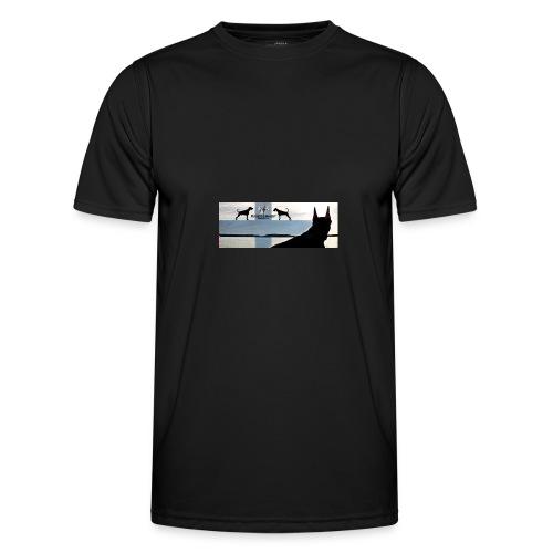 FBtausta - Miesten tekninen t-paita
