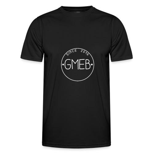 doorschijnend LOGO WIT - Functioneel T-shirt voor mannen