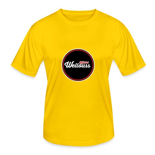 Wellouss Fan T-shirt | Rood - Functioneel T-shirt voor mannen