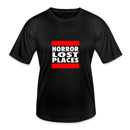 Horror Lost Places - Männer Funktions-T-Shirt
