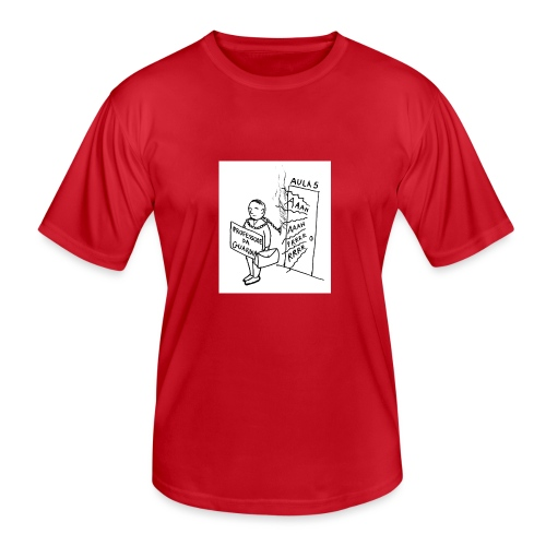 prof da guardia - Maglietta sportiva per uomo