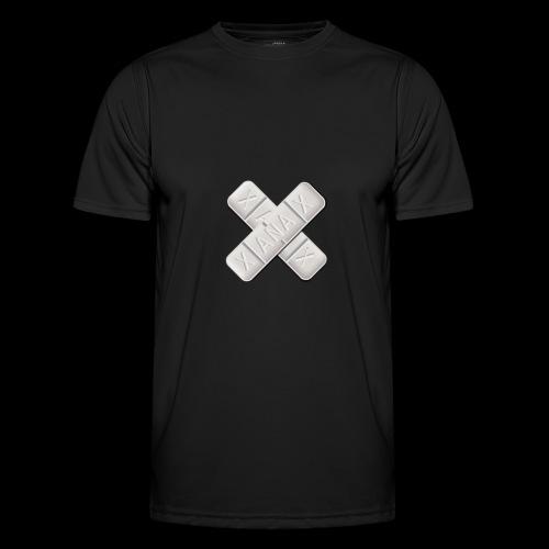 Xanax X Logo - Männer Funktions-T-Shirt
