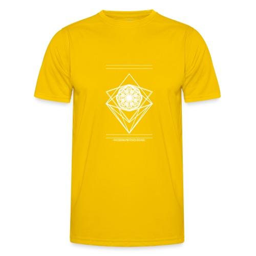 VISION [WHITE] - Functioneel T-shirt voor mannen