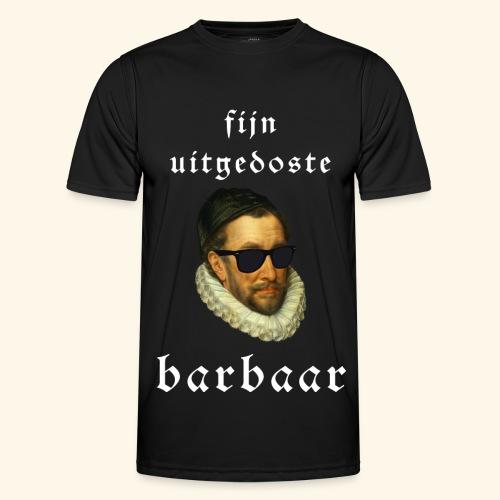 Fijn Uitgedoste Barbaar - Functioneel T-shirt voor mannen