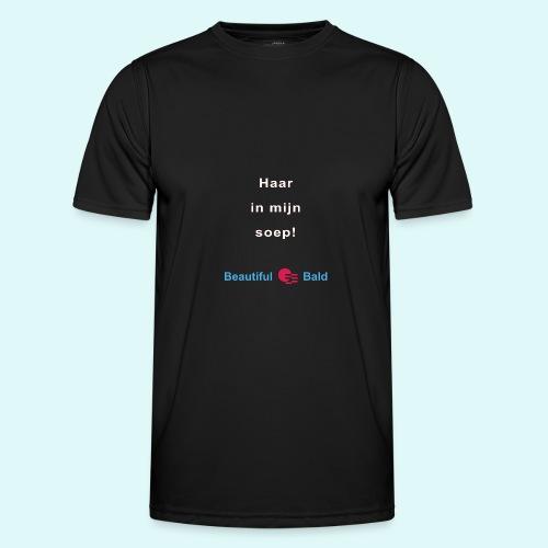 Haar in mijn soep-w - Functioneel T-shirt voor mannen