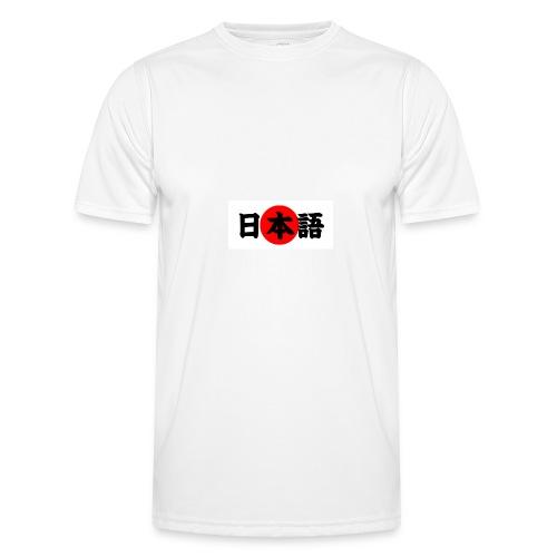 japanese - Miesten tekninen t-paita