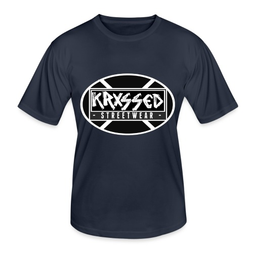 KRXSSED BASIC - Functioneel T-shirt voor mannen