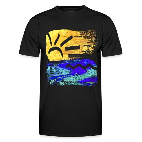 StrandEntlang - Männer Funktions-T-Shirt