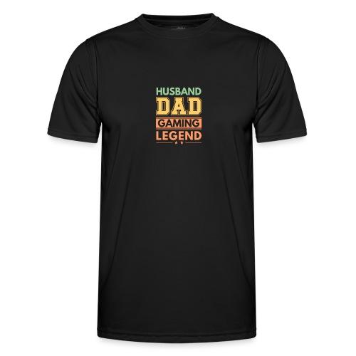 Make, Pappa, Gaming Legend - Stolt Sådan - Funktions-T-shirt herr