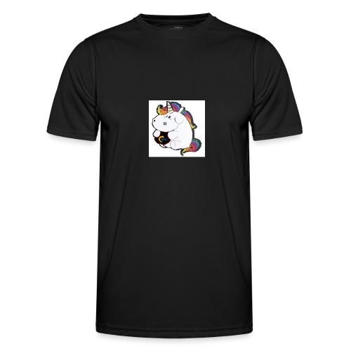 MIK Einhorn - Männer Funktions-T-Shirt