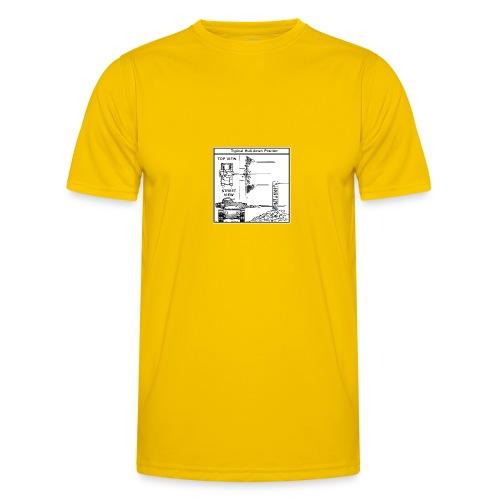 W.O.T War tactic, tank shot - Men's Functional T-Shirt