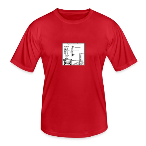 W.O.T War tactic, tank shot - Men's Functional T-Shirt