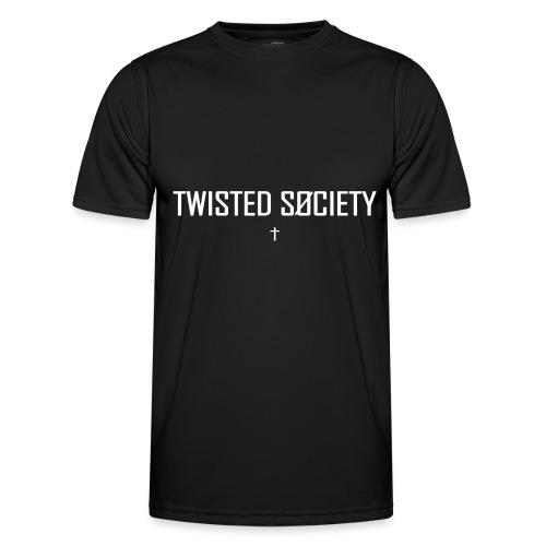 Logo white - Men's Functional T-Shirt