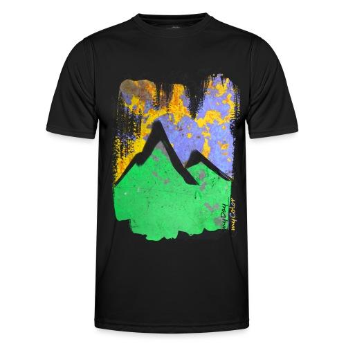 BergAbend - Männer Funktions-T-Shirt