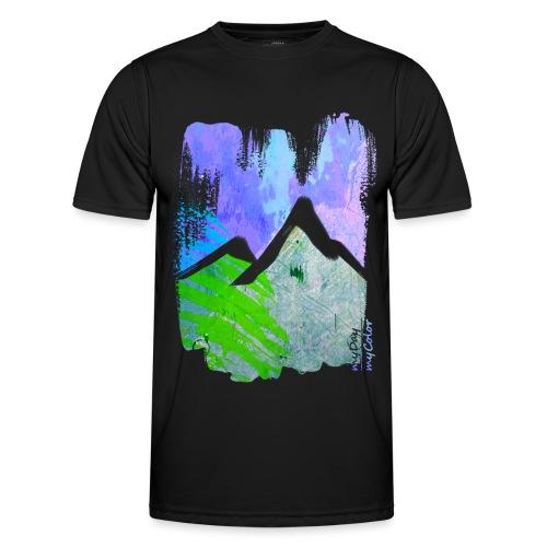 BergMorgen - Männer Funktions-T-Shirt