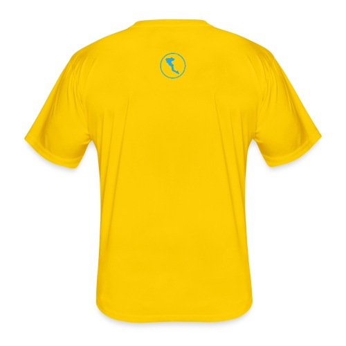 GRE3 Corfu back - Männer Funktions-T-Shirt