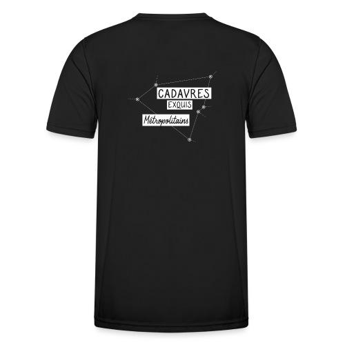 Cadavres Exquis Métropolitains - T-shirt sport Homme