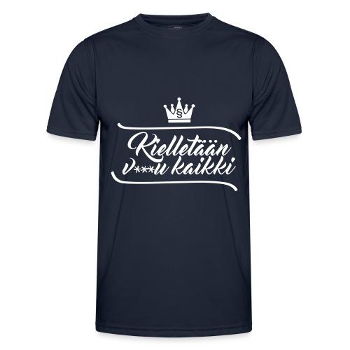 Kielletään v***u kaikki - Miesten tekninen t-paita