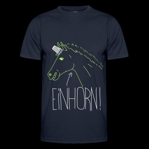 Einhorn - Männer Funktions-T-Shirt