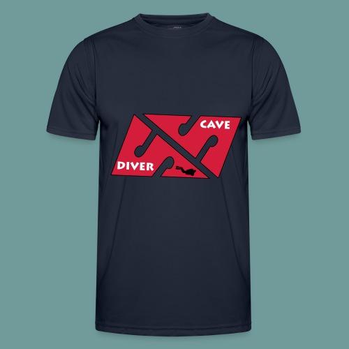 cave_diver_01 - T-shirt sport Homme
