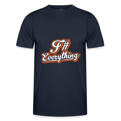 F# Everything - Men's Functional T-Shirt