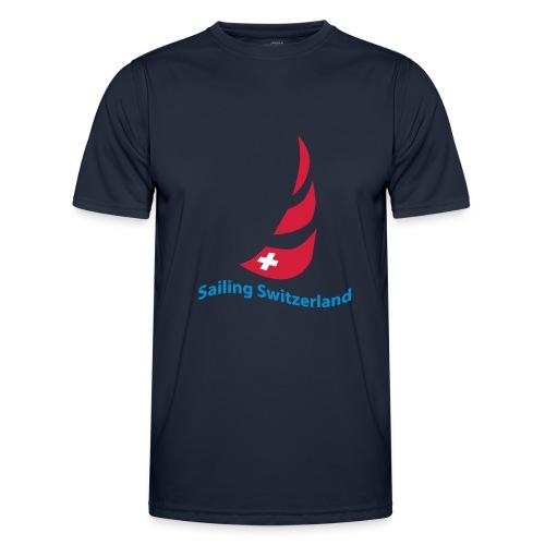 logo sailing switzerland - Männer Funktions-T-Shirt