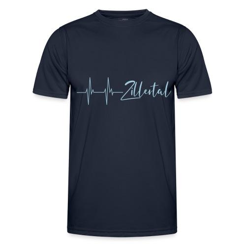 Herzschlag Zillertal - Männer Funktions-T-Shirt