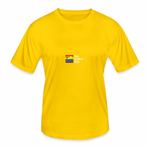 GOC Logo White Text - Men's Functional T-Shirt