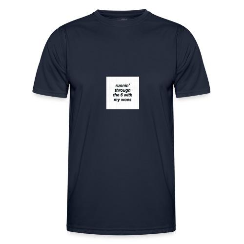 cap woes - Functioneel T-shirt voor mannen