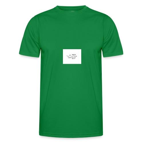 I_LOVE_DUBSTEP - Camiseta funcional para hombres