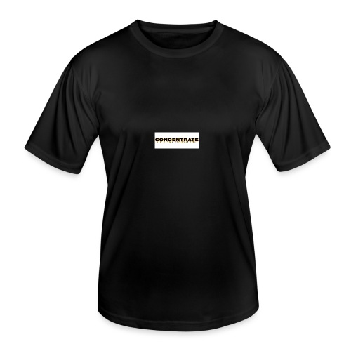Concentrate on white - Men's Functional T-Shirt