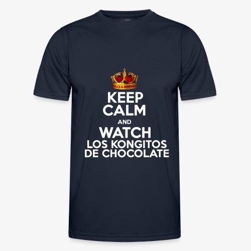KEEP CALM AND WATCH LOS KONGITOS DE CHOCOLATE - Camiseta funcional para hombres