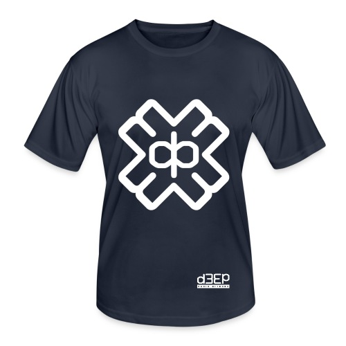 July D3EP Blue Tee - Men's Functional T-Shirt