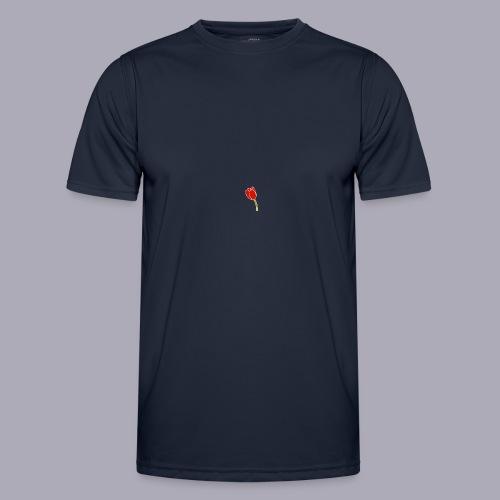 Tulip Logo Design - Men's Functional T-Shirt