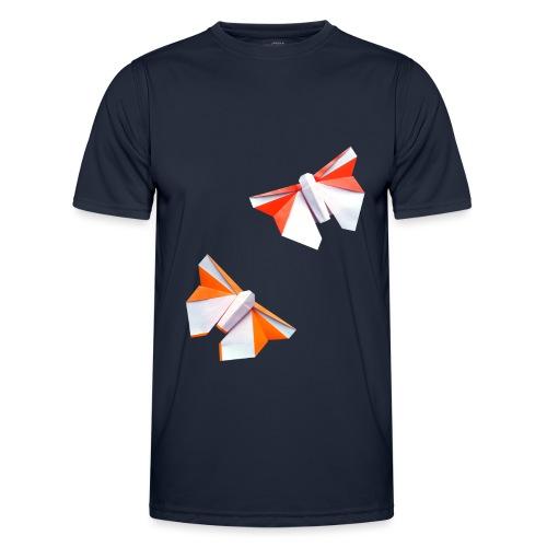 Butterflies Origami - Butterflies - Mariposas - Men's Functional T-Shirt