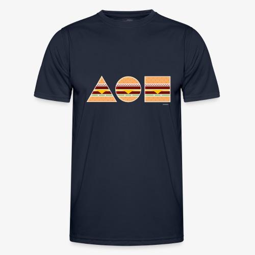 Graphic Burgers - Maglietta sportiva per uomo