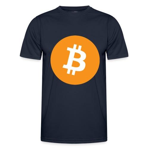 Bitcoin boom - Maglietta sportiva per uomo