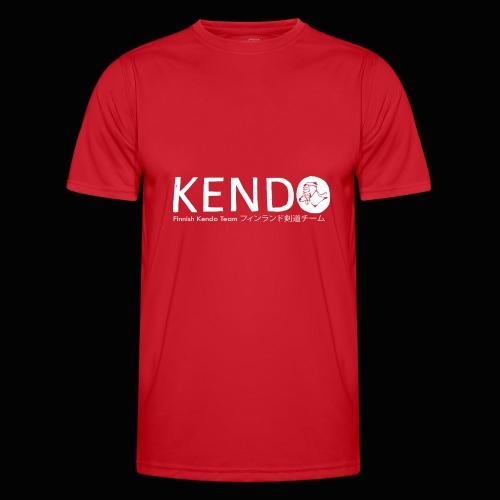 Finnish Kendo Team Text - Miesten tekninen t-paita