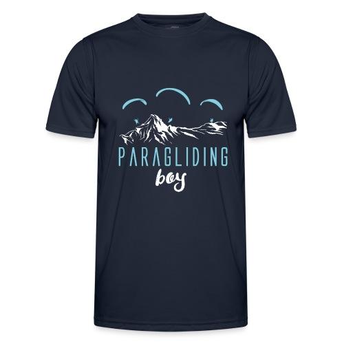 Paragliding Paragleiter Gleitschirm - Männer Funktions-T-Shirt