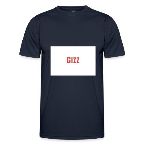 Gizz rood - Functioneel T-shirt voor mannen