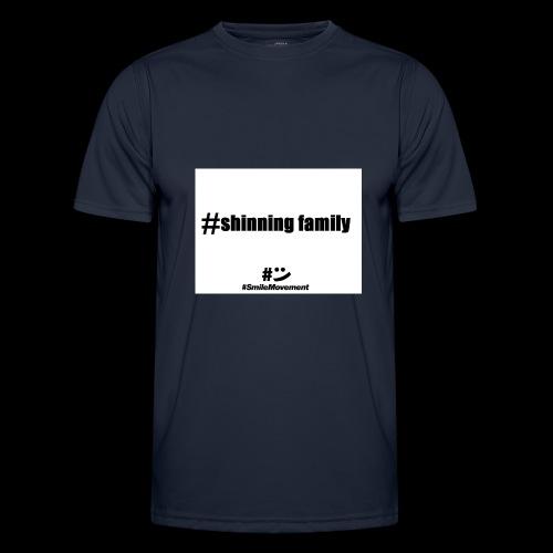 shinning family - T-shirt sport Homme