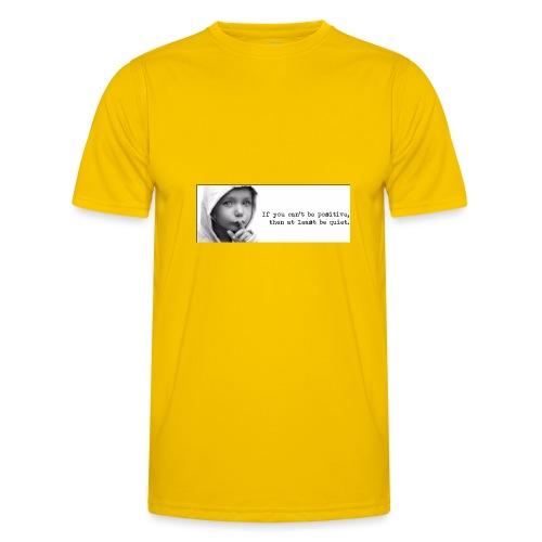 quiet - Functioneel T-shirt voor mannen