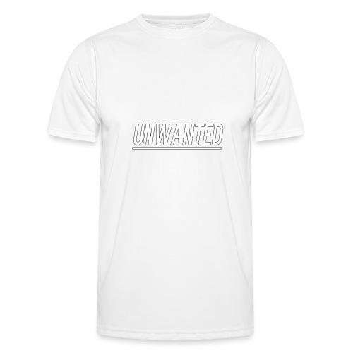 UNWANTED Logo Tee White - Men's Functional T-Shirt