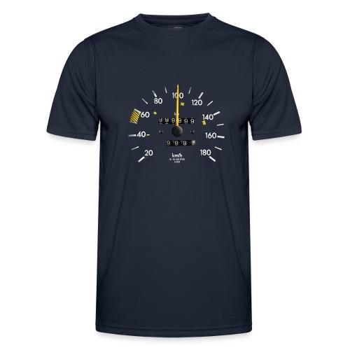 ONE MILLION KM - Miesten tekninen t-paita