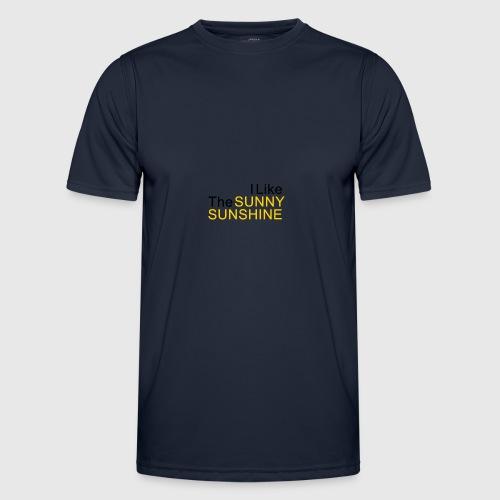 Sunny Sunshine... - Functioneel T-shirt voor mannen