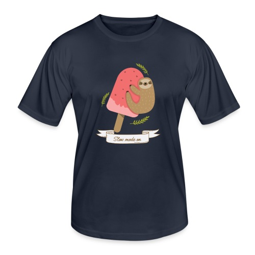 Paresseux Slow mode on - T-shirt sport Homme