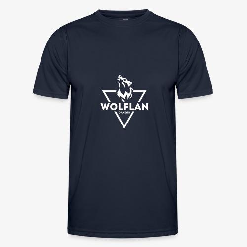 WolfLAN Logo White - Men's Functional T-Shirt