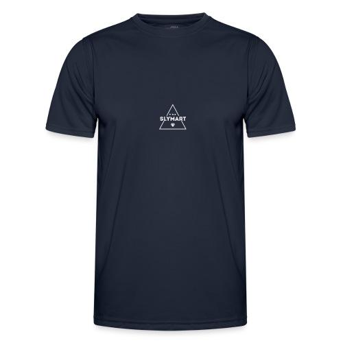 Slymart blanc - T-shirt sport Homme
